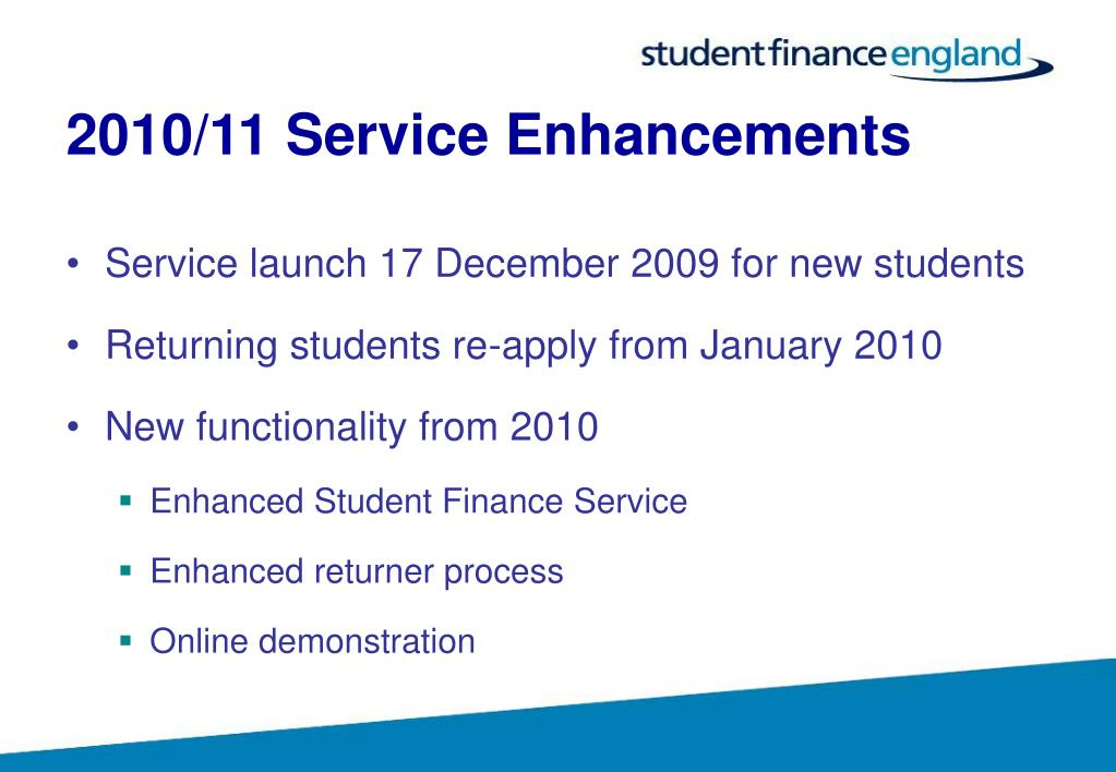 2010/11 Service Enhancements