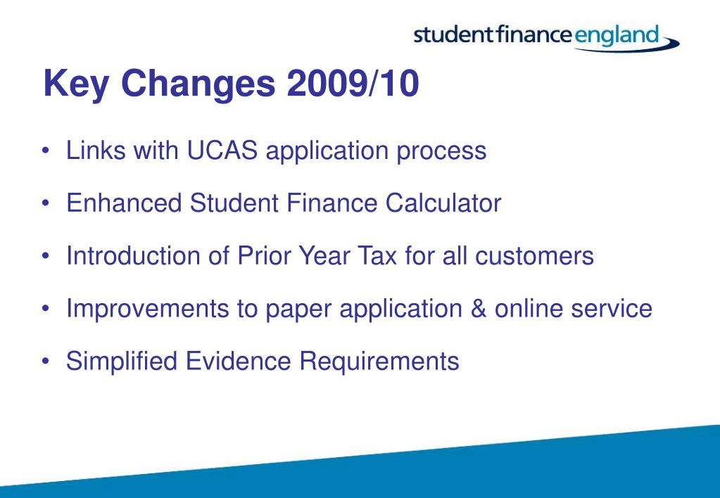 Key Changes 2009/10
