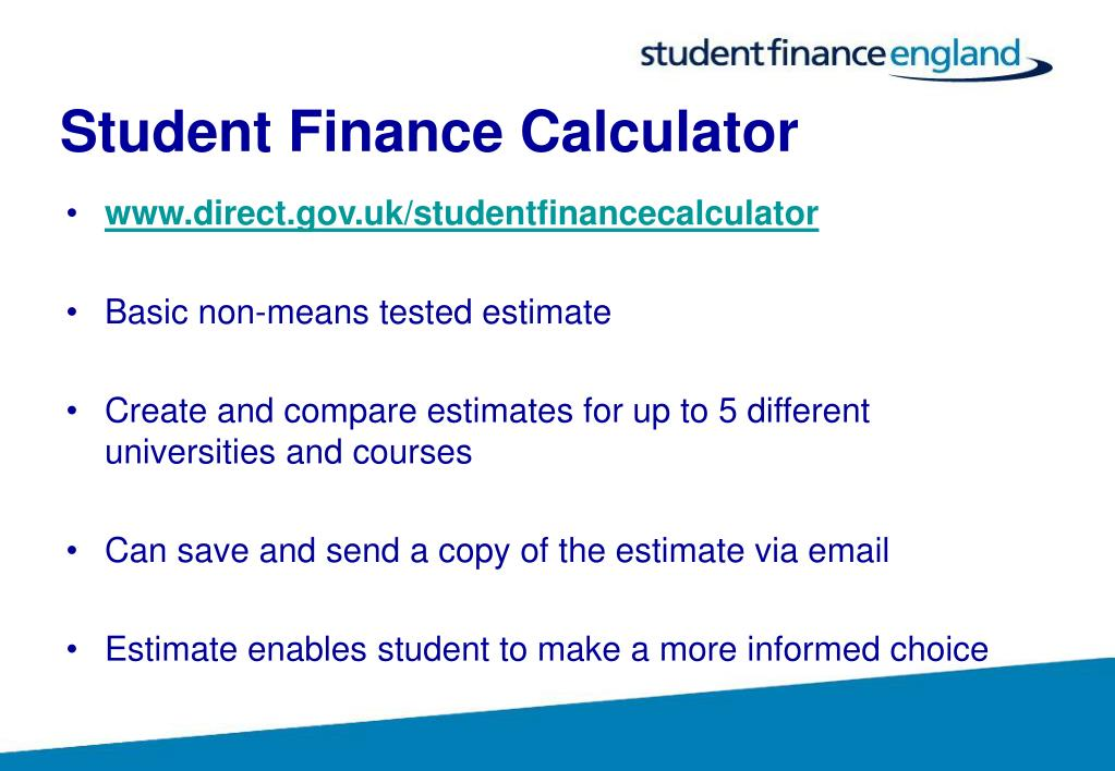 Student Finance Calculator