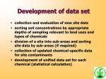 development of data set20