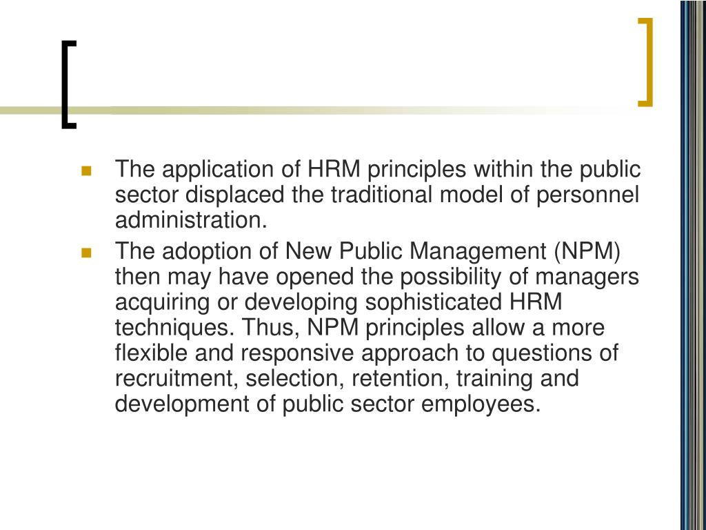 traditional model to new public management essay What is new public management (npm) definition of new public management (npm): a politically-conservative appeal for government to reduce bureaucracy and adopt.