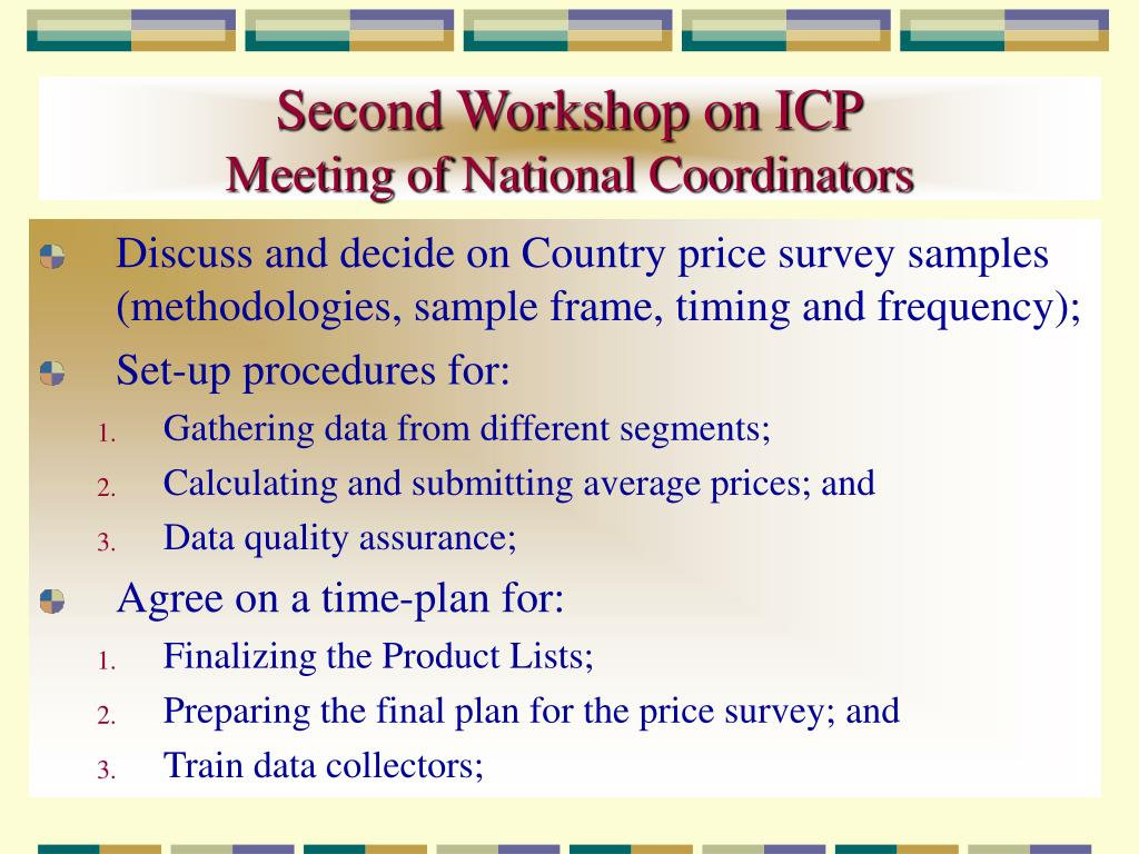 Second Workshop on ICP