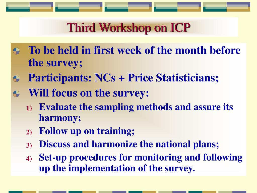 Third Workshop on ICP