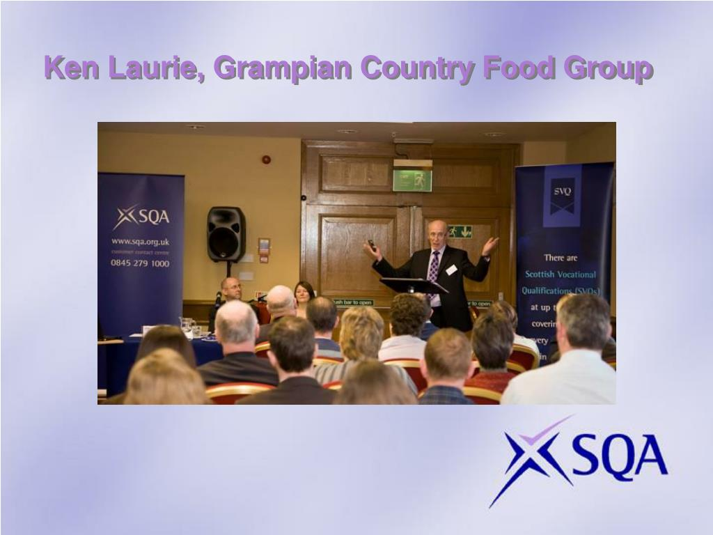 Ken Laurie, Grampian Country Food Group