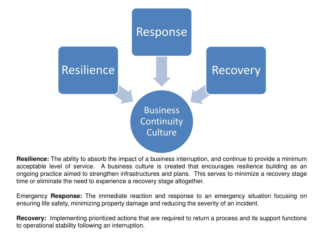 Resilience: