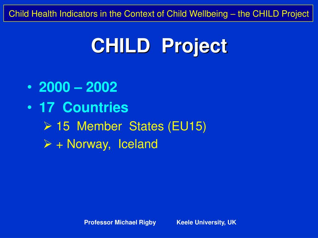 CHILD  Project