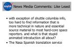news media comments like least7