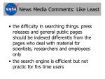 news media comments like least9