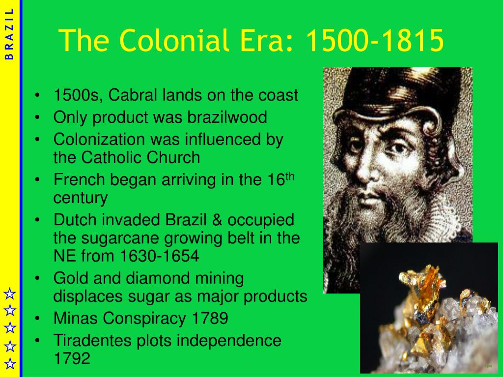 The Colonial Era: 1500-1815