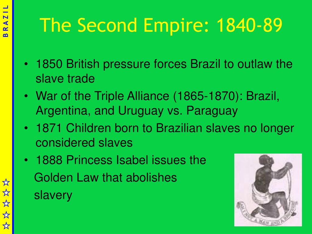 The Second Empire: 1840-89