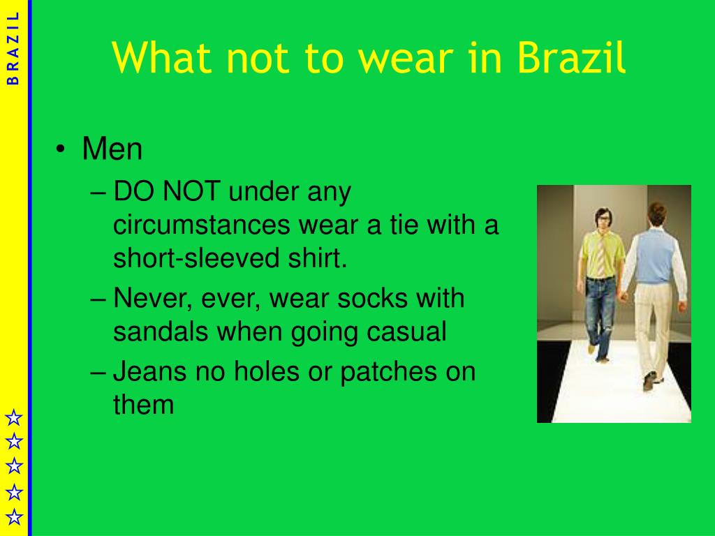 What not to wear in Brazil