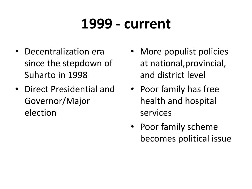 1999 - current