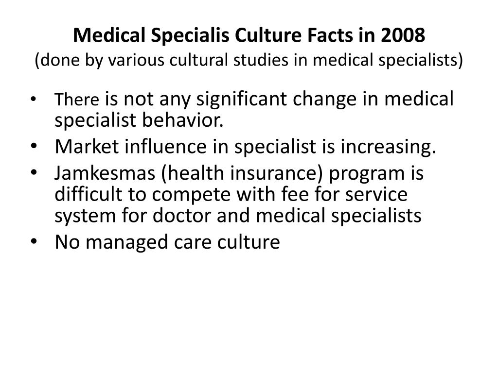 Medical Specialis