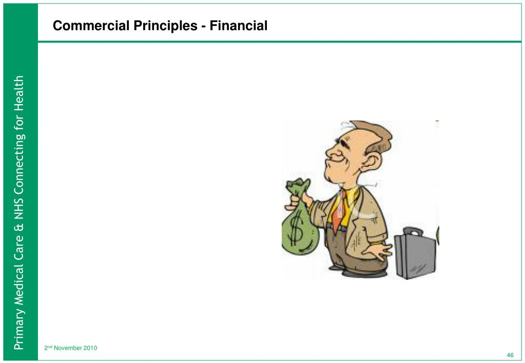 Commercial Principles - Financial