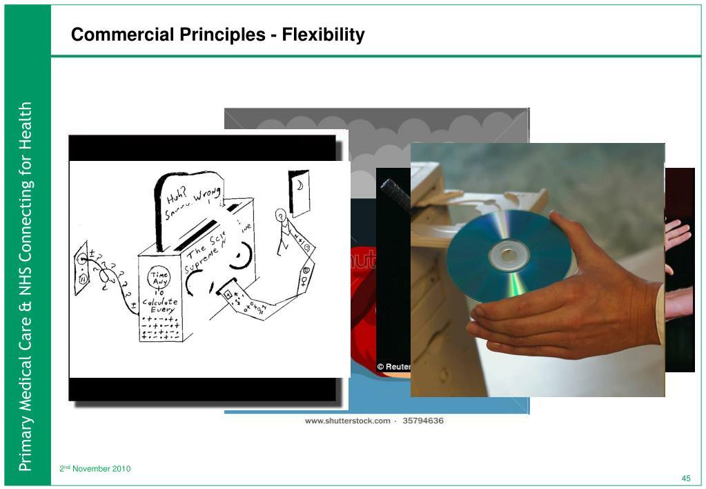 Commercial Principles - Flexibility