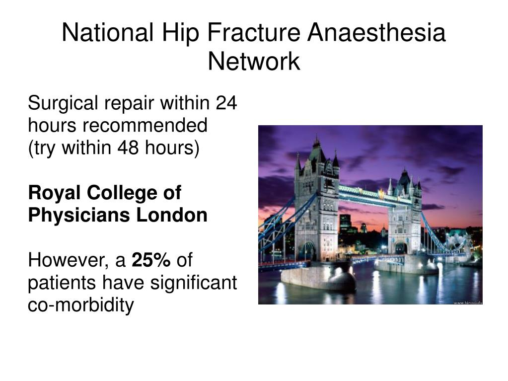 National Hip Fracture Anaesthesia Network