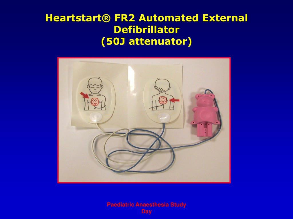 Heartstart® FR2 Automated External Defibrillator