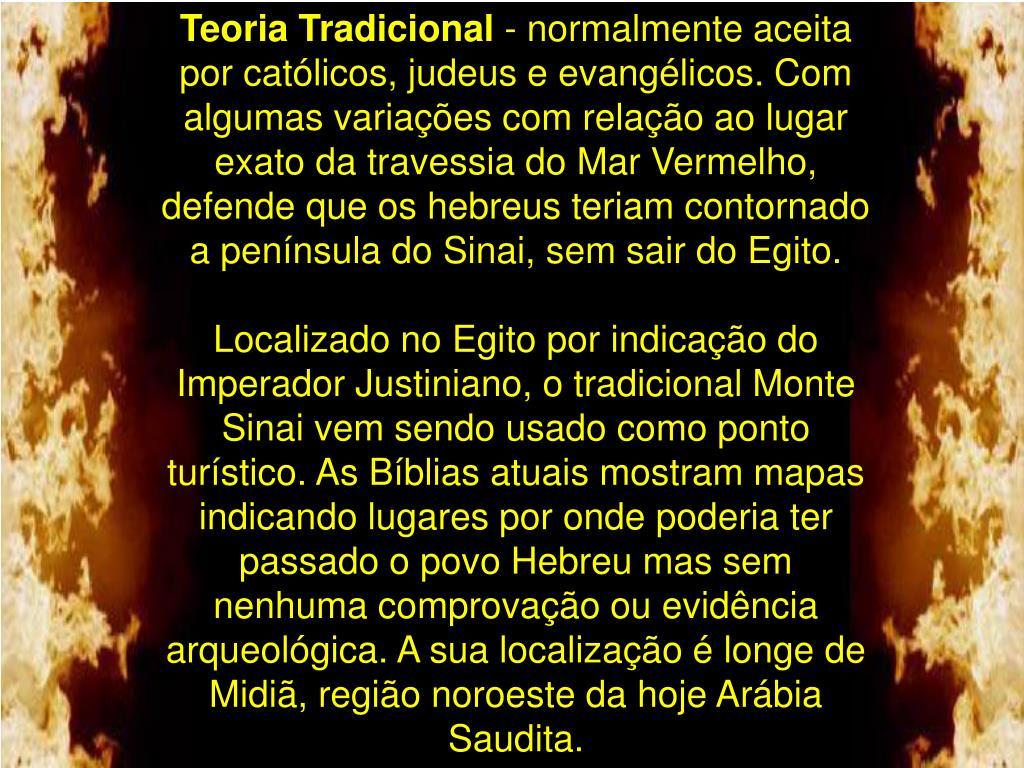 Teoria Tradicional