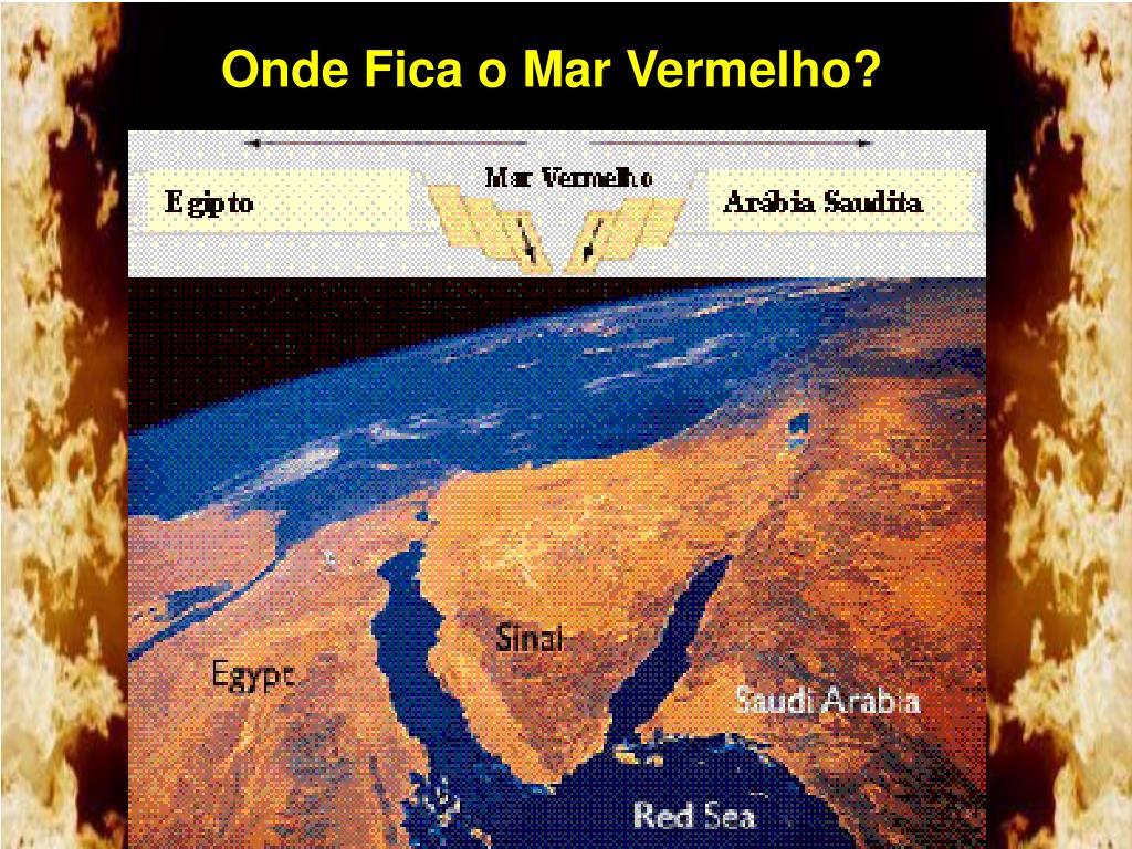 Onde Fica o Mar Vermelho?
