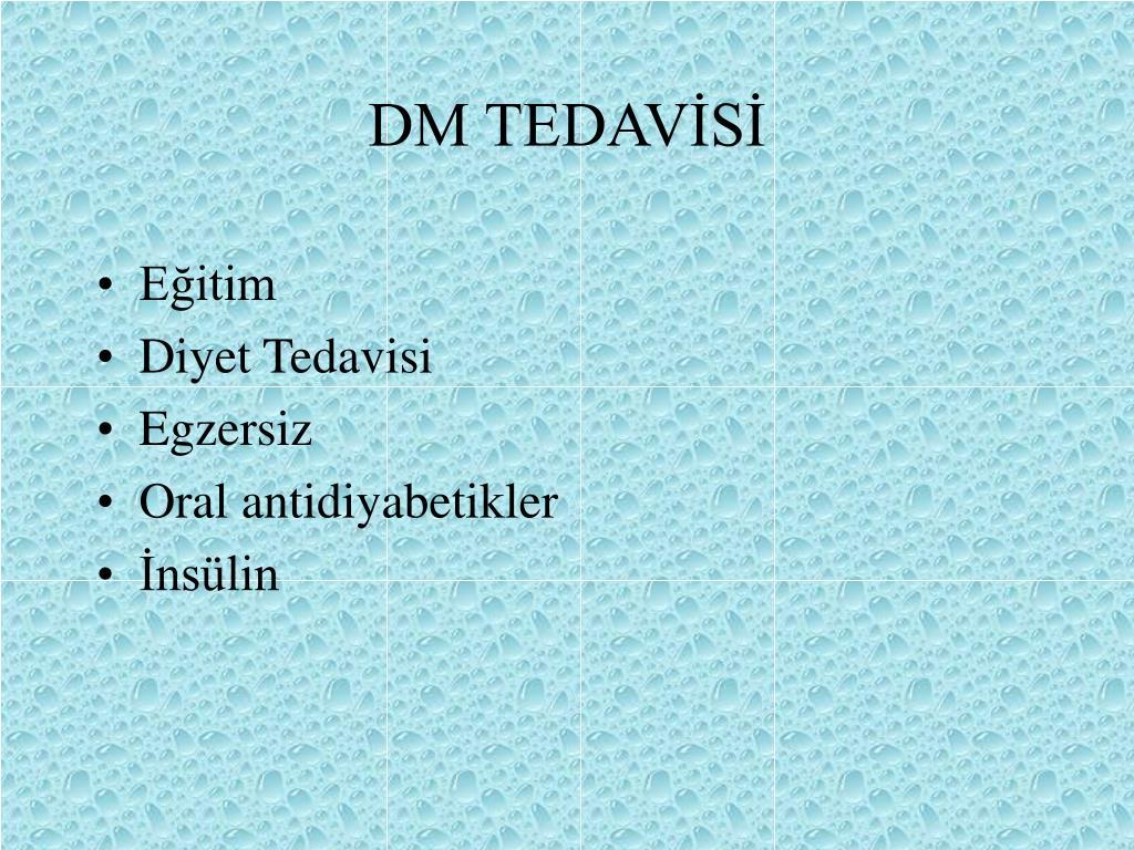 DM TEDAVİSİ