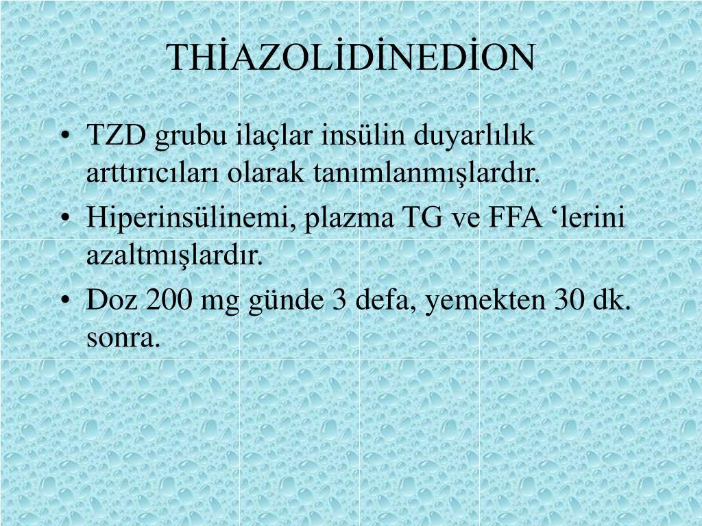 THİAZOLİDİNEDİON