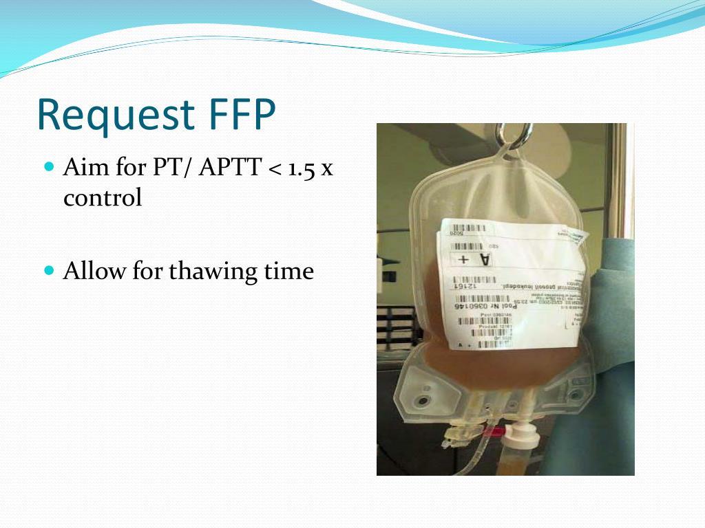 Request FFP