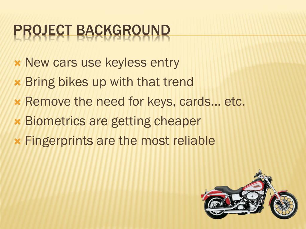 New cars use keyless entry