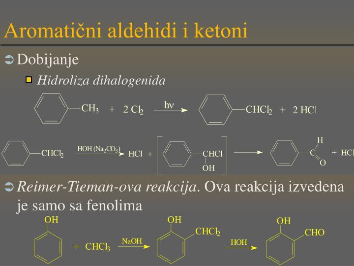Aromatični aldehidi i ketoni