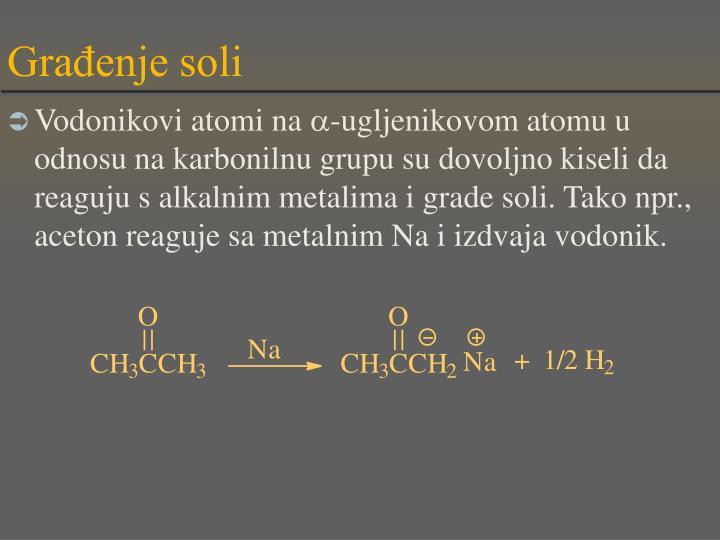 Građenje soli