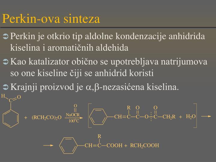 Perkin-ova sinteza
