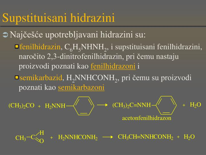 Supstituisani hidrazini