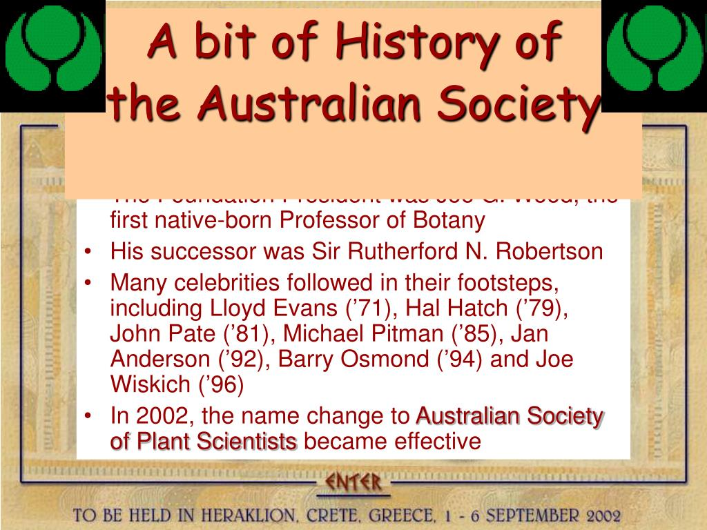 A bit of History of