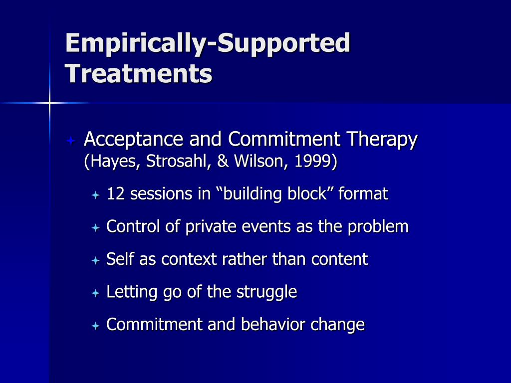 Empirically-Supported Treatments