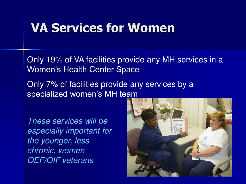 VA Services for Women