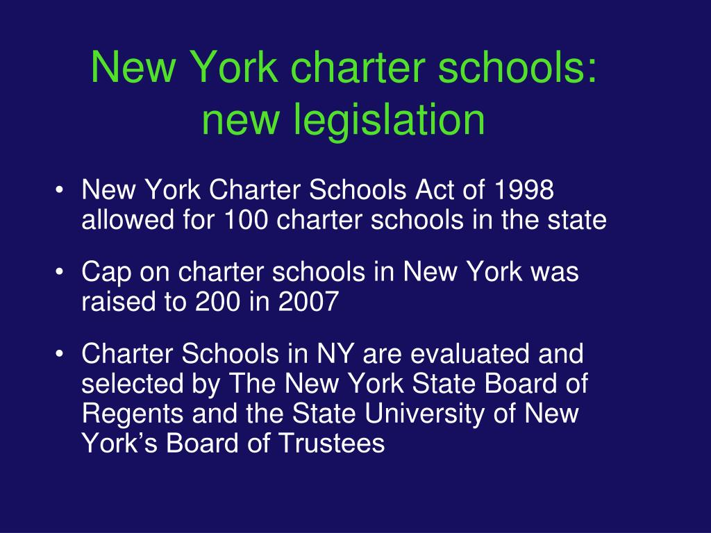 New York charter schools: