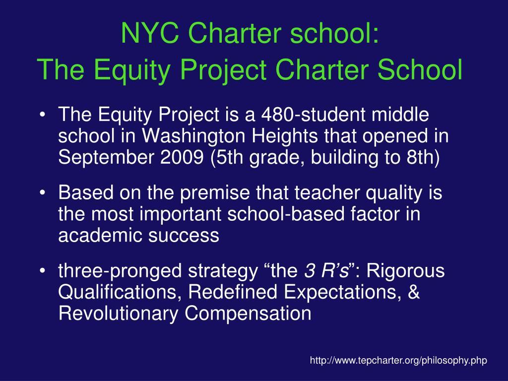NYC Charter school: