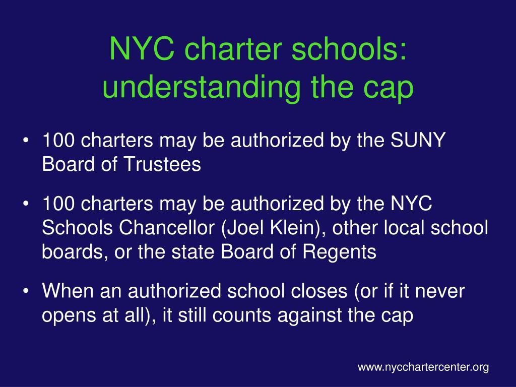 NYC charter schools: