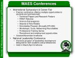 maes conferences