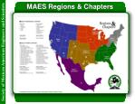 maes regions chapters