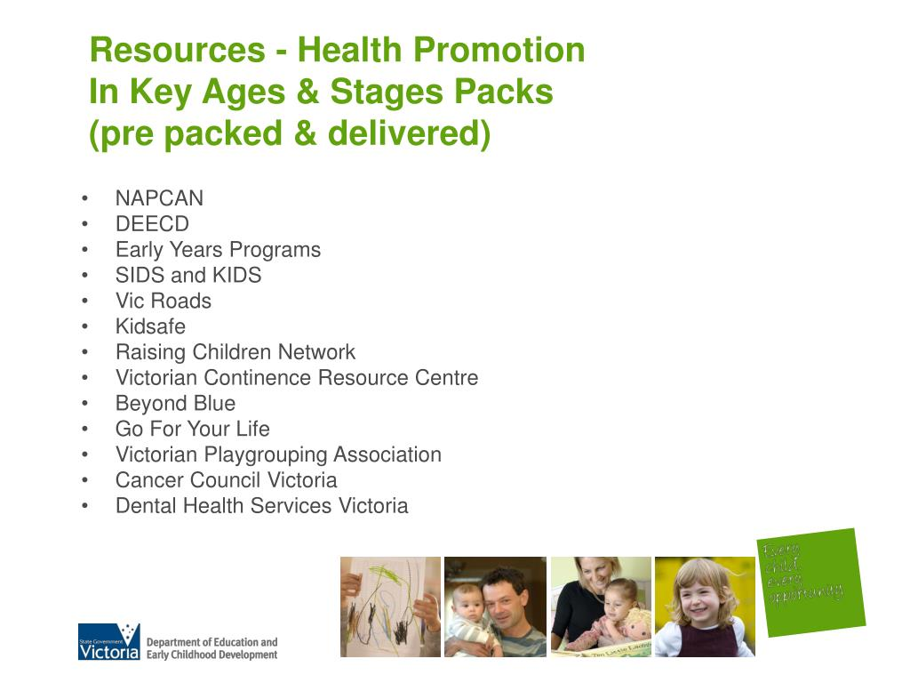 Resources - Health Promotion