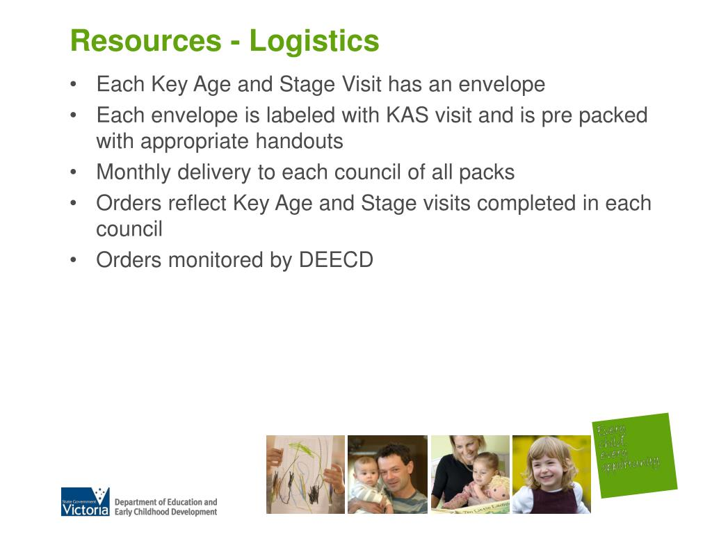 Resources - Logistics