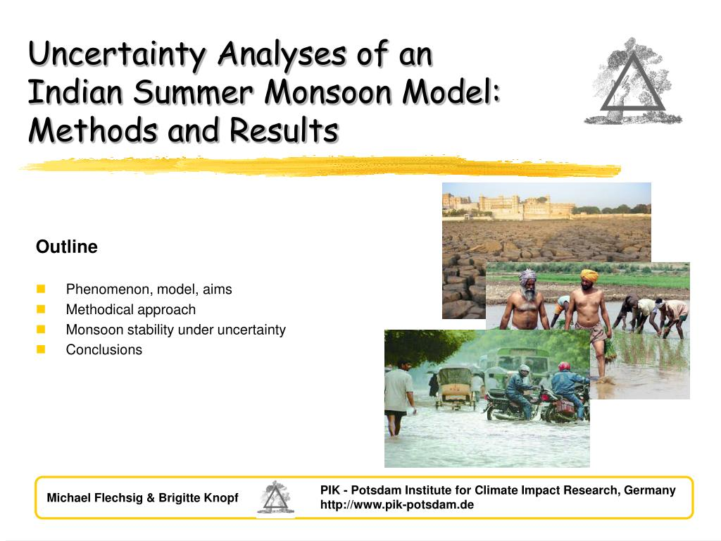 outline phenomenon model aims methodical approach monsoon stability under uncertainty conclusions