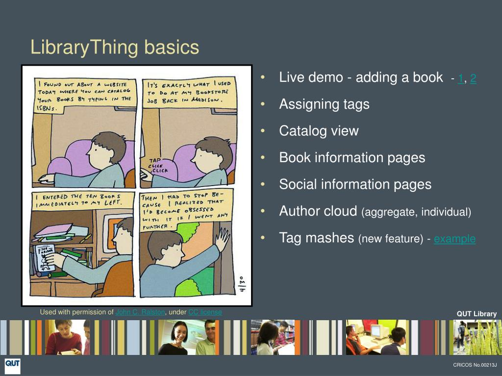 LibraryThing basics