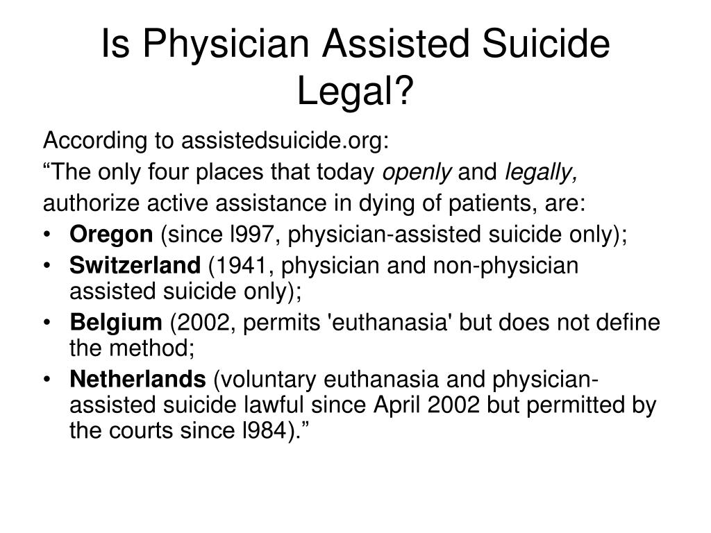 "legally permitting euthanasia essay Euthanasia essay legal euthanasia euthanasia is defined as ""the act or practice of killing or permitting the death of hopelessly sick or injured individuals."