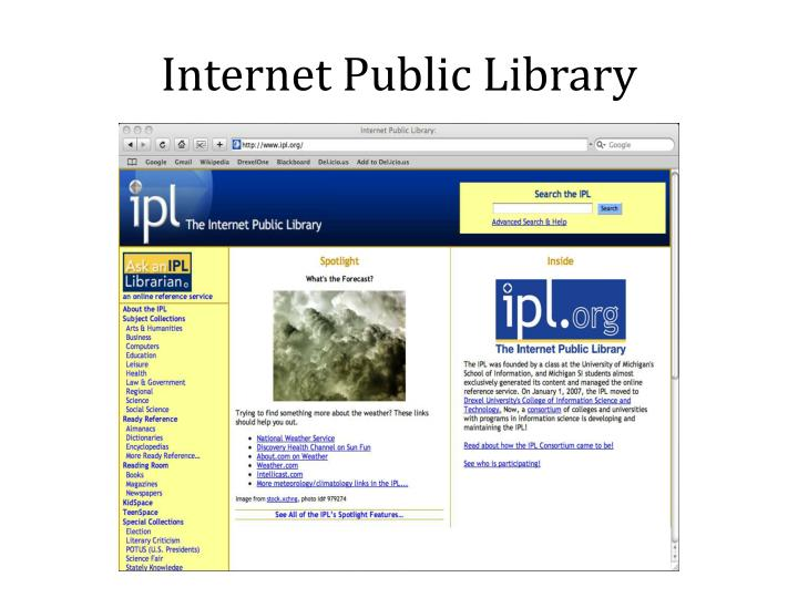 Internet public library3