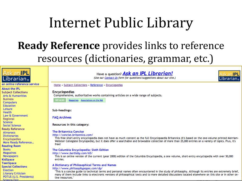 Internet Public Library