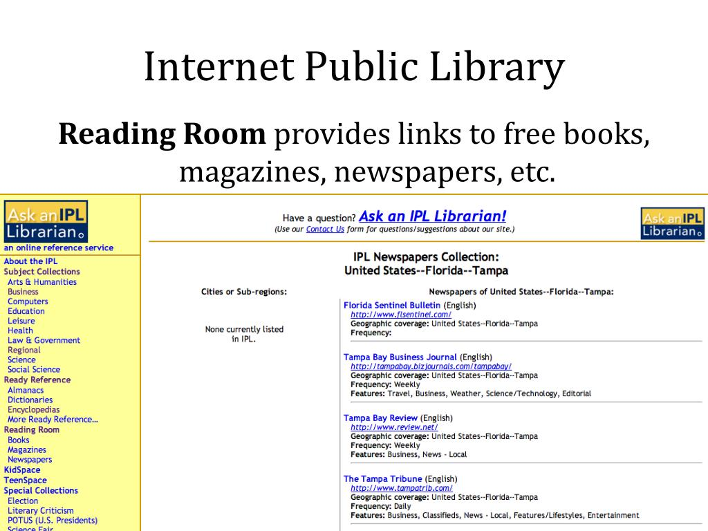 Internet Public Library
