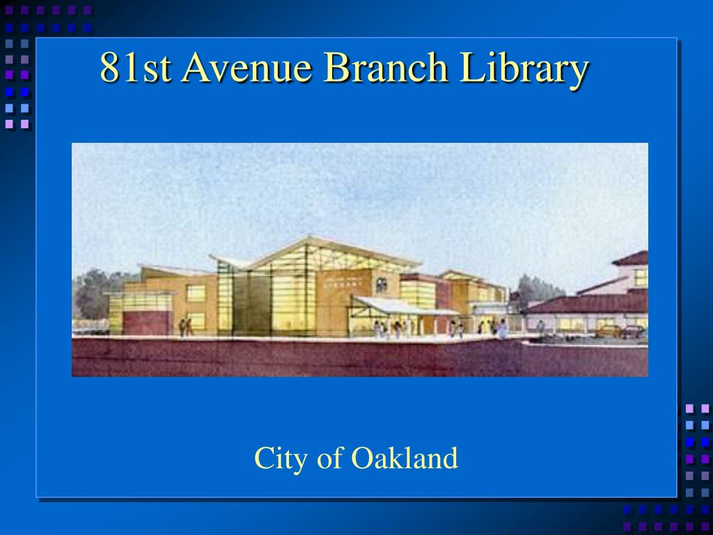 81st Avenue Branch Library