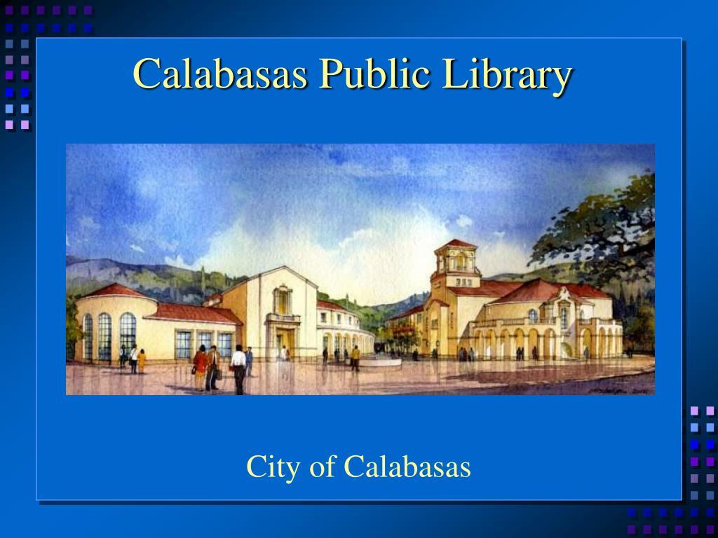 Calabasas Public Library