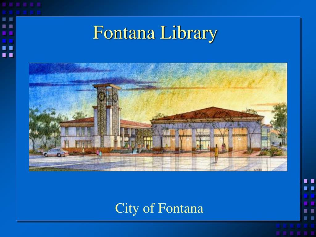 Fontana Library
